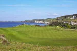Picture of Royal Portrush Golf Club 5th green, Ireland
